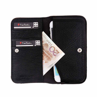 Pierre Cardin Genuine Leather Luxury Wallet Case For IPhone 5S SE Vintage Fashion Case For IPhone