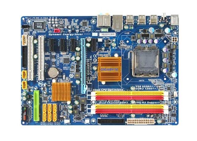 Motherboard original para gigabyte GA-EP43-S3L tableros EP43-S3L mainboard LGA 775 DDR2 16 GB P43 placa base de escritorio Envío gratis