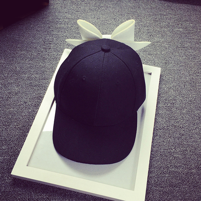 Oversized Bow Baseball Cap...