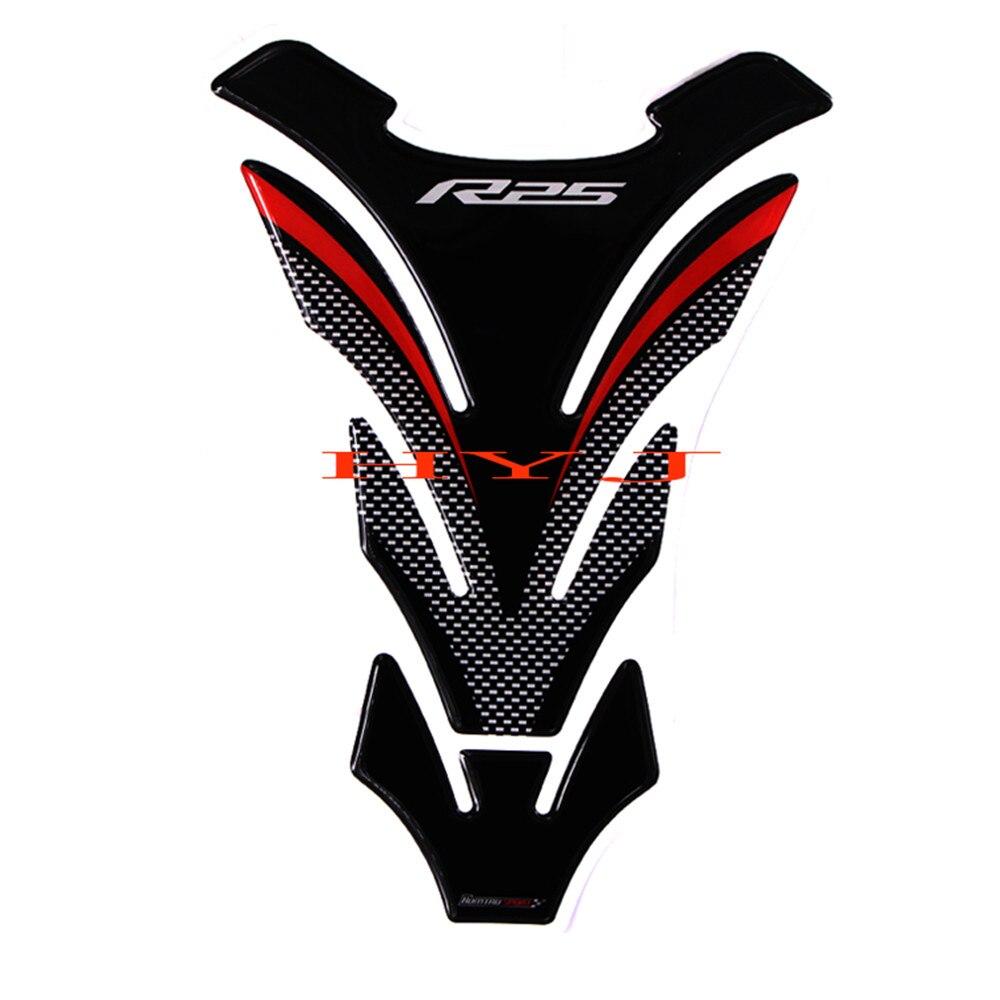 Der GüNstigste Preis 3d Motorrad Tank Pad Protector Aufkleber Aufkleber Fall Für Yamaha R25 Yzf-r25 Tankpad Eine VollstäNdige Palette Von Spezifikationen