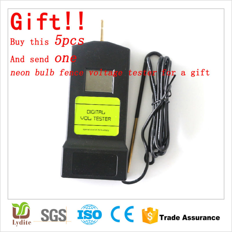 Digital Voltmeter Fence : Pieces voltsnorth american widely used in farm