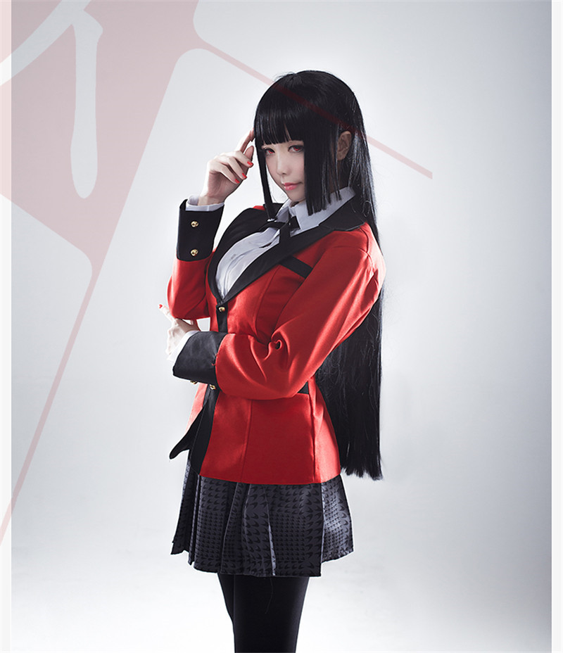 New Anime Kakegurui Jabami Yumeko Cosplay Costumes JK Girls Student School Uniform Outfits Set Jacket Shirt Skirt Ties Stockings On Aliexpress