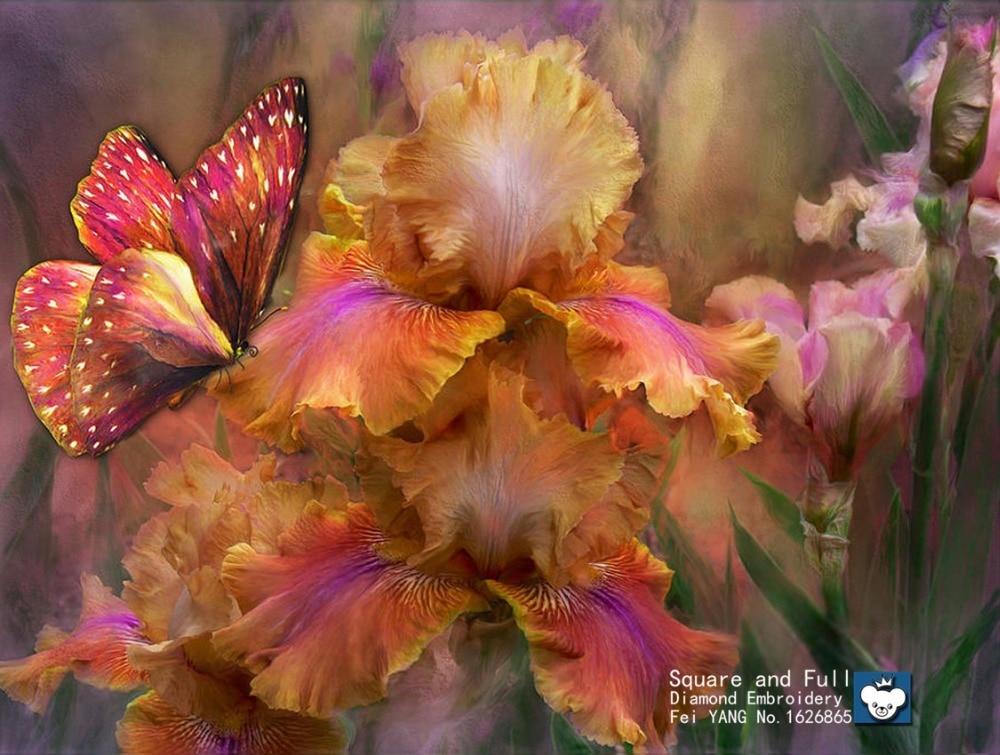 Всех, открытка с днем рождения с цветами ирис