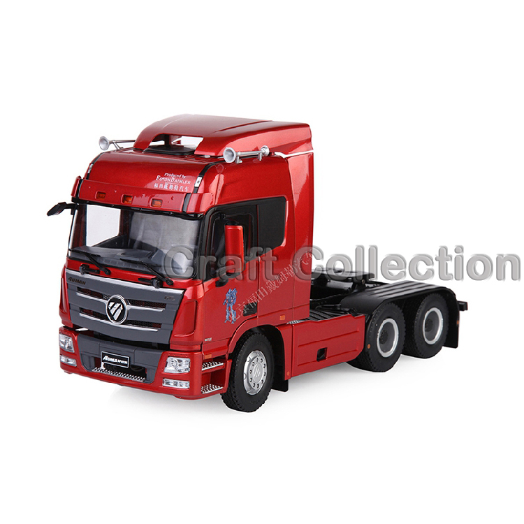 * 1:24 Scale Daimler Auman Foton GTL GTLH4 Tractor Diecast Model Truck Alloy Toy