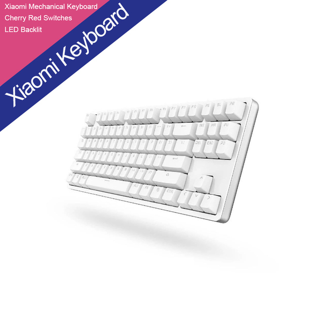 XIAOMI Yuemi Mechanical Keyboard 87 Keys Gaming Keyboard with Cherry Red Switches and LED Backlit