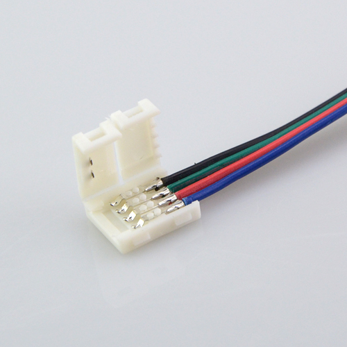 1 pcs led rgb strip light connector line 4 pin diy pcb connector 1 pcs led rgb strip light connector line 4 pin diy pcb connector adapter for 5050 3014 3528 led rgb tape lighting in connectors from lights lighting on aloadofball