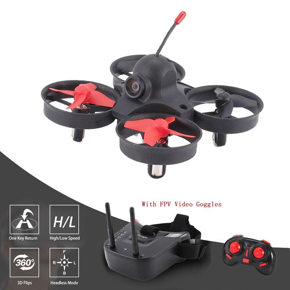 5.8G 4CH Mini RC FPV caméra Drone quadrirotor avec casque 3in récepteur de recherche automatique lunettes vidéo Drones pour enfants