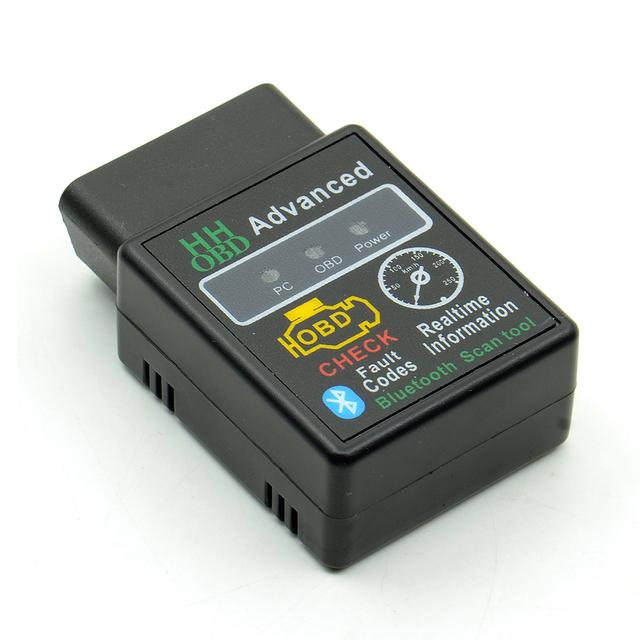 Super Mini Elm327 Bluetooth OBD2 V2.1 Elm 327 V2.1 OBD 2 Car Diagnostic Scanner Elm-327 OBDII Adapter Auto Diagnostic Tool
