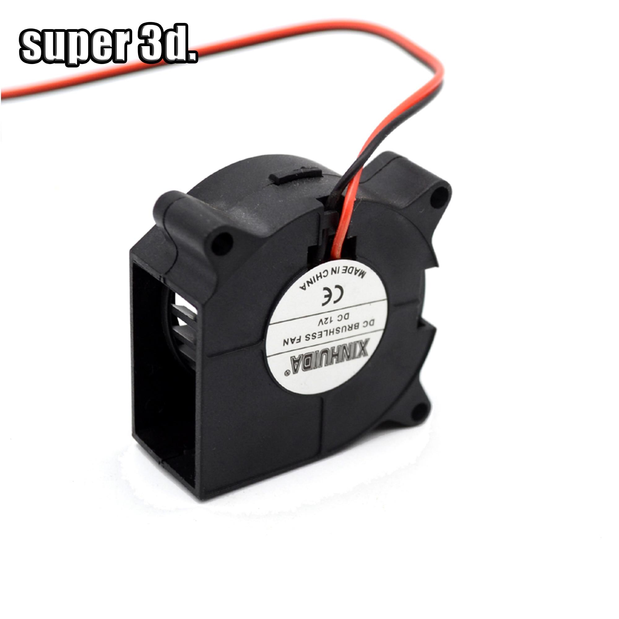 1 Pcs 4020 Blower Turbo Cooling Fan  Brushless 40x40x20mm DC 12V&24V 3D Printer Radial Fans Blower For J-head Hotend Reprap