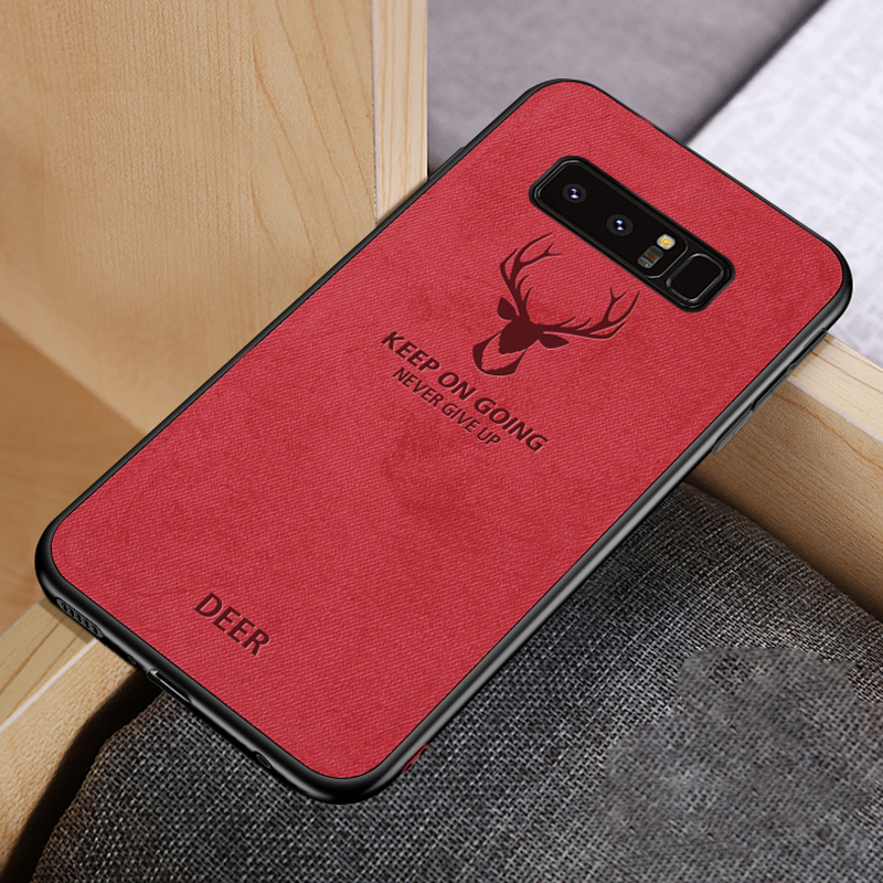 Magnetic Soft Fabric Case for Samsung
