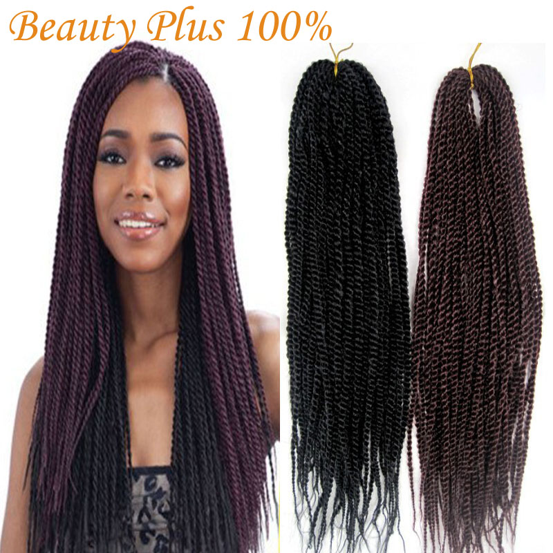 Crochet Hair Vendors : Hair Senegalese Braids 18 Folded Afro Kinky Twist Hair Crochet ...