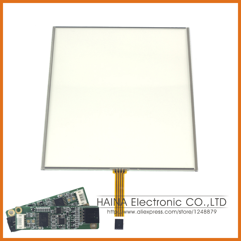 5 wire 19 Inch includes USB Cotroller Resistive Touch Screen Panel For Photo Kiosk/Industrial equipment