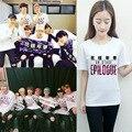 BTS suga moletom com capuz camisa kpop mochilas Seul 2016 concerto T-shirt moleton devem usar roupas de verão para homens e mulheres