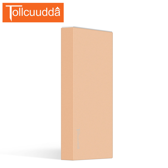 Tollcuudda unique Power Bank 10000mah Dual USB Ultra Slim Mobile Portable Battery Charger for iPhone 6/ 6s power Fast Shipping
