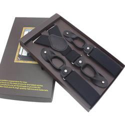 Новые мужские подтяжки натуральная кожа 6 Кнопка бандажа ремень модные suspensorio Регулируемый лигас Tirantes 3,5*120 см без коробки