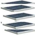 Светодиодная панель 12 В  10 Вт  5 шт.  50 Вт  панель солнечных батарей  12 В  зарядное устройство  лампа  система солнечного освещения  автономное с...