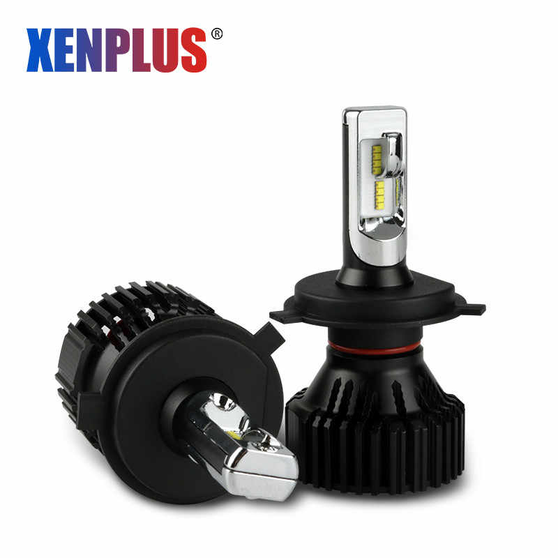 Xenplus LED H7 H4 H11 H3 H1 H8 HB3 HB4 9004 9006 9005 9007 Headlight bulb Super bright 8000LM 60W Motorcycle Car Lights Fog Lamp