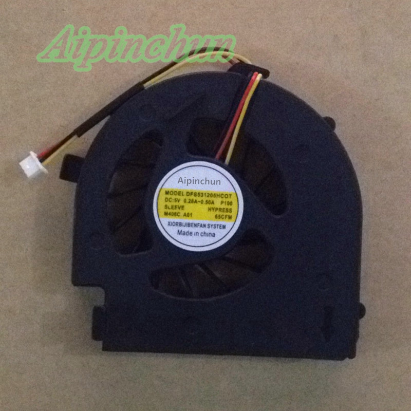 Aipinchun New CPU Cooling Fan For Dell 14V N4020 N4030 M4010 P07G Cooler Radiators Laptop Fan