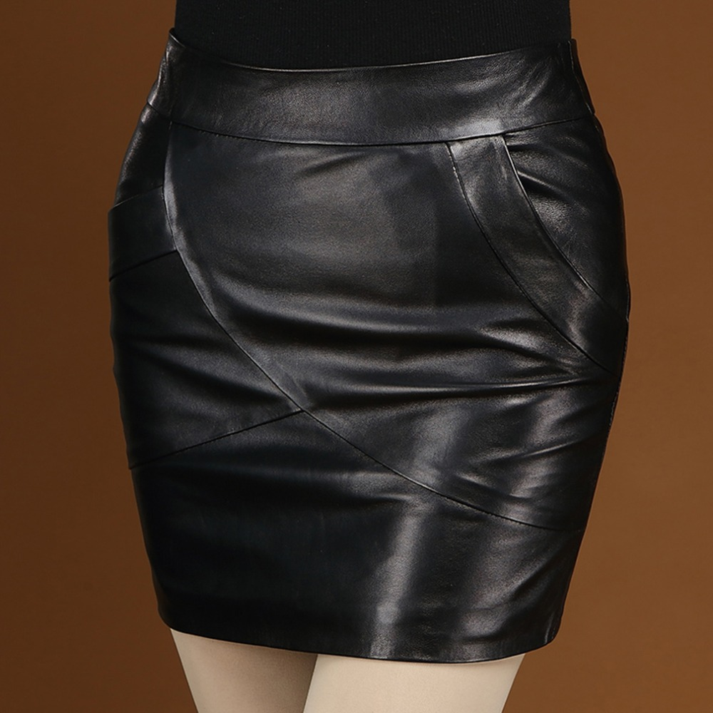 Online Get Cheap Real Leather Mini Skirt -Aliexpress.com | Alibaba ...