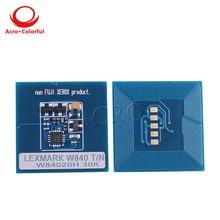 30K 12B0090 toner chip for Lexmark W820 laser printer cartridge refill high quality цена в Москве и Питере