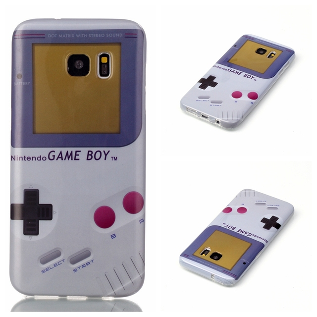 best cheap 495cc d4c2a US $1.65 |Fashion Game Boy TPU Case for Samsung Galaxy S5 G900F Neo G903F  S6 S6edge S7 Edge S5 Mini Full Cover Classic Soft Fundas Shell on ...