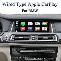 Android Auto CarPlay приложения для BMW НБТ Series 5 F10/F11 2012 2017 автомобили добавить Aftermarket заднего вида Камера