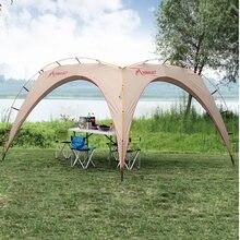 Мгновенный Кемпинг навес палатки 5-8 человек непромокаемые солнце приют палатка Открытый пляж Пикник барбекю вечеринку использования