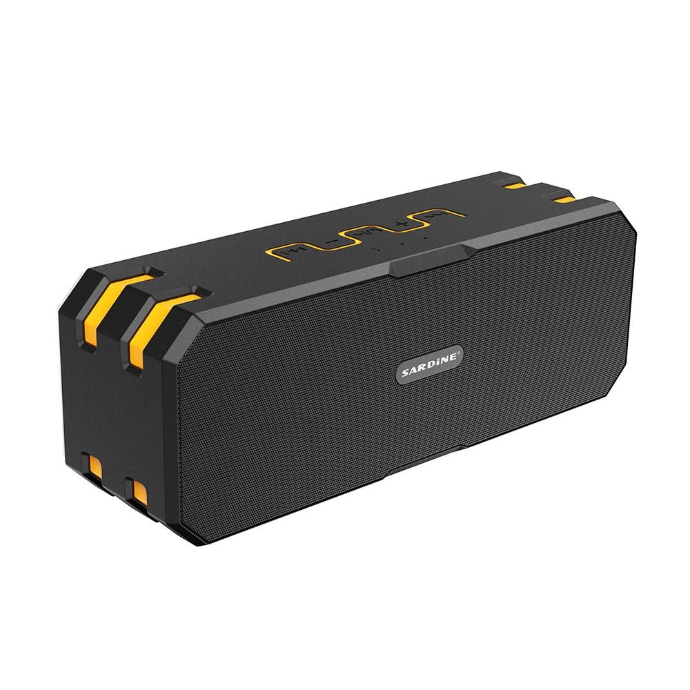 ФОТО Sardine Portable F4 Bluetooth Speaker 12W Big Power 5200mAh Waterproof IP67 Altavoz Speakers Handfree Mic Wireless Loudspeaker