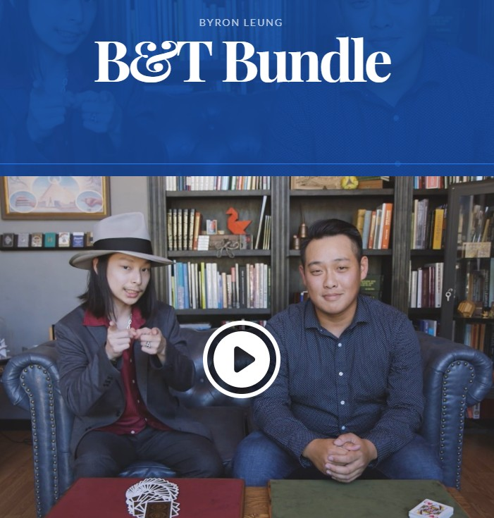 B&T Bundle by Byron Leung & Takumi Takahashi Magic tricks|Magic ...