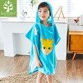 Toalhas macias Do Bebê Girafa Animal Com Capuz Toalha Linda Toalha de Banho Crianças Garoto de Alta Qualidade Roupão de Banho Com Capuz/Bebê Receber Cobertores