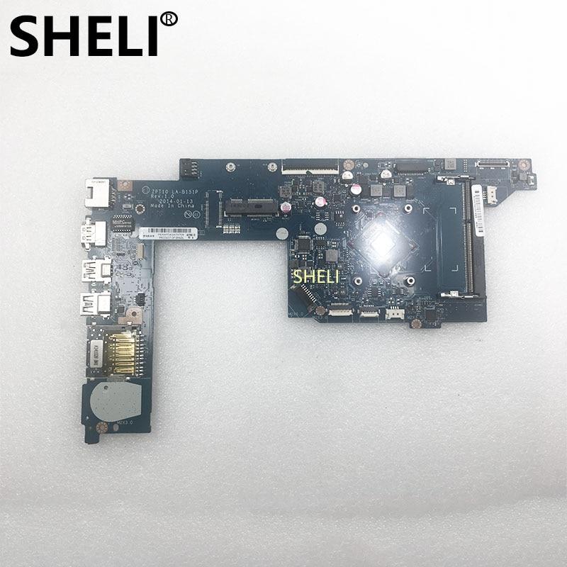 SHELI FOR HP PAVILION 11-N Laptop Motherboard ZPT10 LA-B151P 764235-501 764235-601 764235-001 DDR3 W/ N2830 CPUSHELI FOR HP PAVILION 11-N Laptop Motherboard ZPT10 LA-B151P 764235-501 764235-601 764235-001 DDR3 W/ N2830 CPU