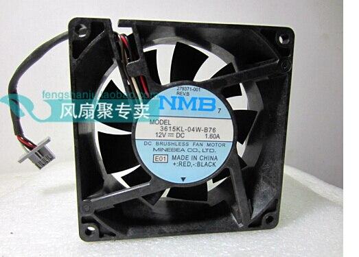New original ML570 G2 279371-001 3615KL-04W-B76 server CPU fan cooling fan sunon original dl365g5 dl360g5 server fan fan group 4056 fan 412212 001 server cooling fan