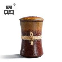 TANGPIN japanese ceramic tea mugs travel mug with filter coffee teacup porcelain teapot 310ml
