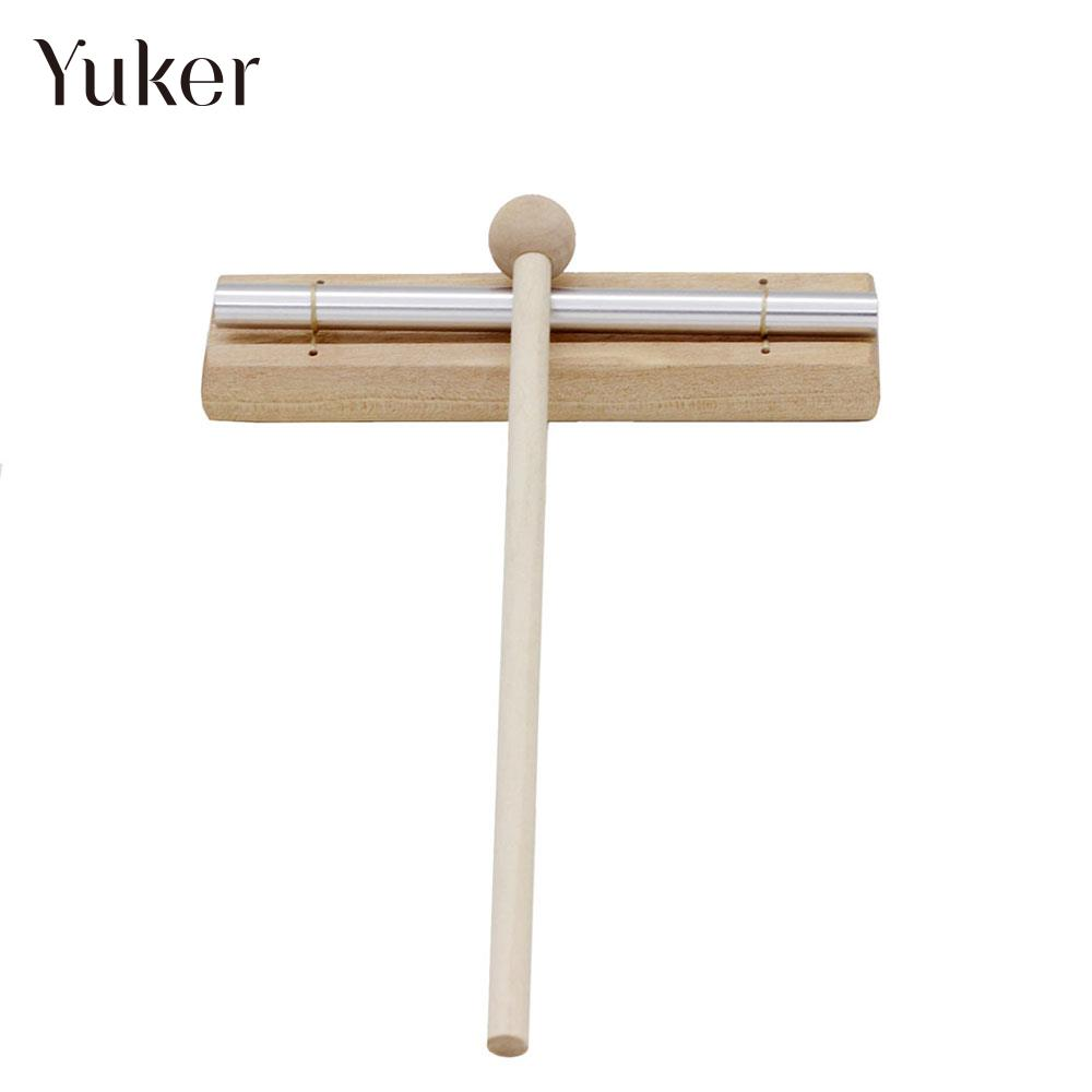 Mallet Wind Bell Accessories Meditation Educational Musical Single Tone Chime For Mini Exquisite Instrument Solo