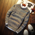 Autumn Thin Round Neck Long Sleeve Mens Pullover S302 Christmas Sweater Men Pullover Men Male Sweater Pull Homme Marque