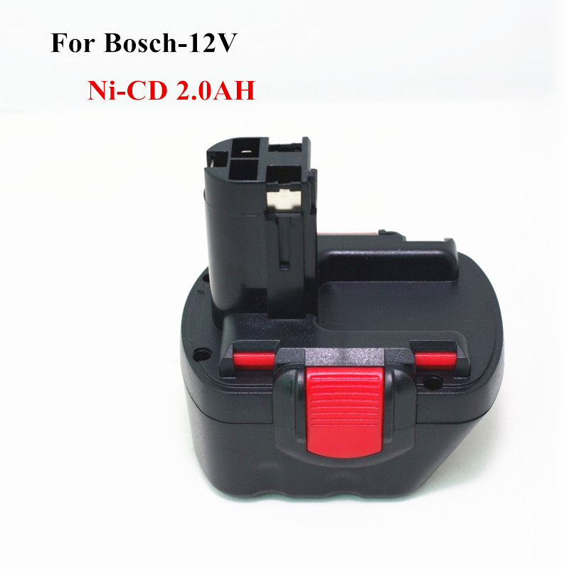 For Bosch 12V 2000mah Replacement tool battery GSR 12V GLI 2.0AH AHS GSB GSR PSR 12VE BAT043 BAT045 BAT046 BAT049 BAT120 BAT139 replacement battery and charger for bosch al1130v bc430 10 8v 12v 1 5ah bat411 gsb 10 8 gsr 10 8 v li battery