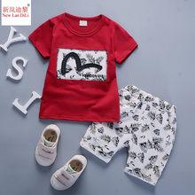 b38734577a1db2c 2 шт. костюм для маленьких мальчиков детская одежда летняя для маленьких  мальчиков комплект одежды с