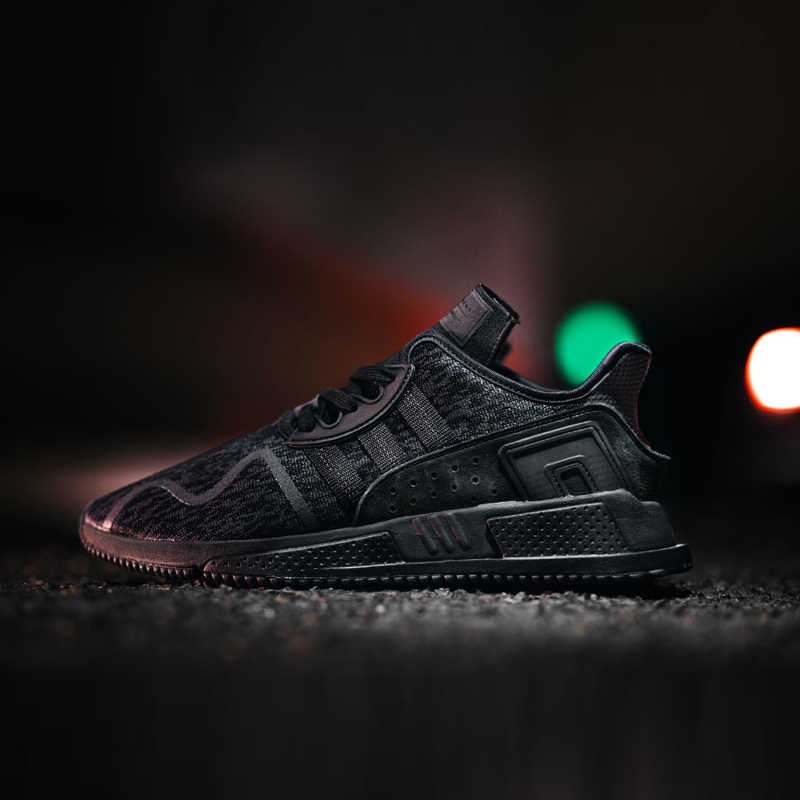more photos 3fe4e 7bc7b Original Official Adidas EQT Cushion Adv Men's Running Shoes Low Classic  Comfortable Breathable Shoes Outdoor Anti-slip BY9507