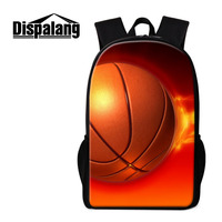 Dispalang Sports Backpack For Men Women Basketball Backpacks Large Capacity Kids Oxford School Bags For Teenagerrs