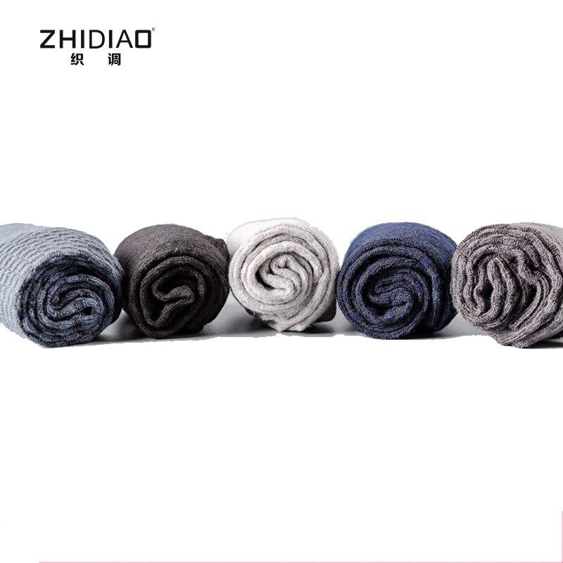 New Years winter solid color business formally anti-odor men dress socks bamboo fiber men socks gift masculina cotton socks man