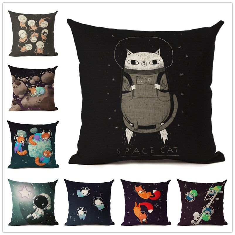 Hot Selling Lovely Animals Cushion Cover Decorative Sofa Throw Pillow Car Chair Home Decor Pillow Case almofadas Cojines