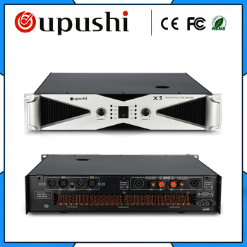 OUPUSHI X5 2* 550w amp professional stage performance amplifier Karaoke amplifier  KTV amplifier