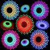 RGB LED Audio Spectrum Flashing Kit Fantastic 9X18 Aurora Electronic DIY Kit