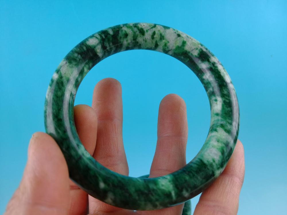 China jades bangle bracelets 69mm diameter Big bangles Woman bracelet A