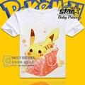 Summer Cartoon Pokemon Go Children T Shirts Boys Kids T-Shirt Tee Clothing for Boys Baby Girls T-Shirts