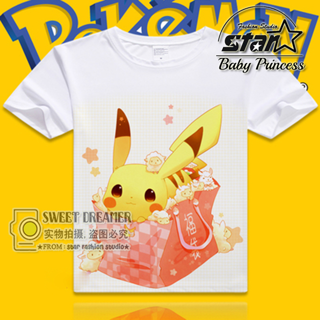 a4226843 Summer Cartoon Pokemon Go Children T Shirts Boys Kids T-Shirt Tee Clothing  for Boys