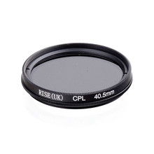 RISE(UK) 40.5MM CPL PL-CIR Polarizing Filter for DLSR 40.5mm lens free shipping