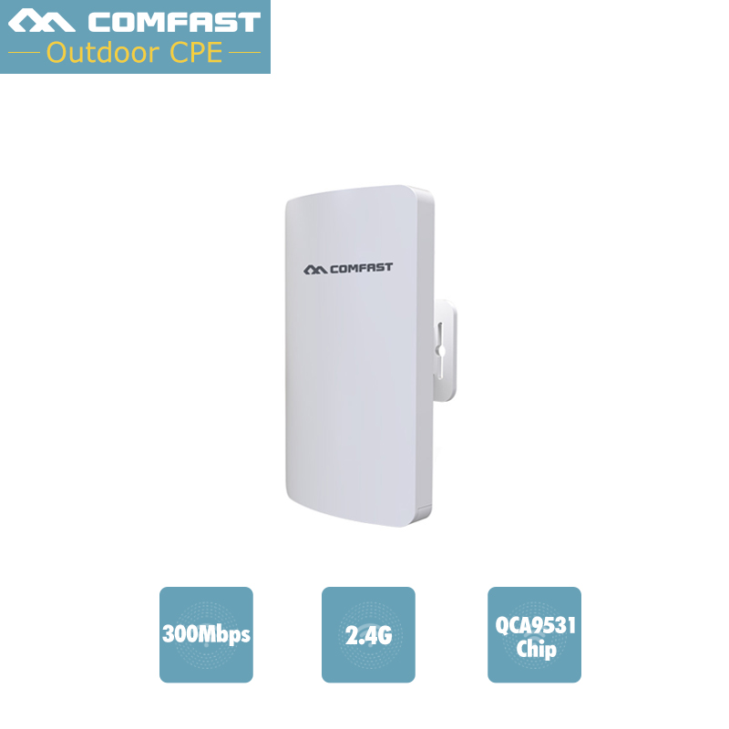 Long Coverage 5km Wifi siganl amplifier High Gain Outdoor Wifi Router 2 4G 300mbps COMFAST Outdoor