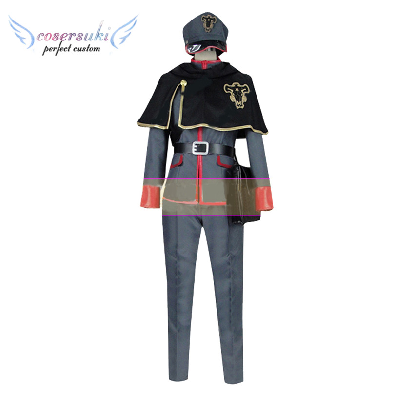 Black Clover Gordon Agrippa Cosplay Costumes Stage Performence Clothes Perfect Custom for You