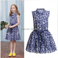 catimini  girls dresses summer 2015 kids clothes baby girl print  child  dress brand catimini girls clothing TY132